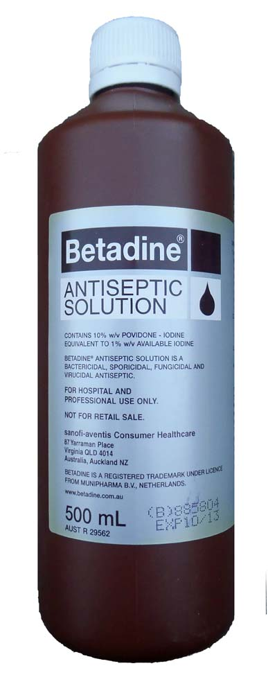Betadine Antiseptic Solution For Dogs Betadine Antiseptic Solution