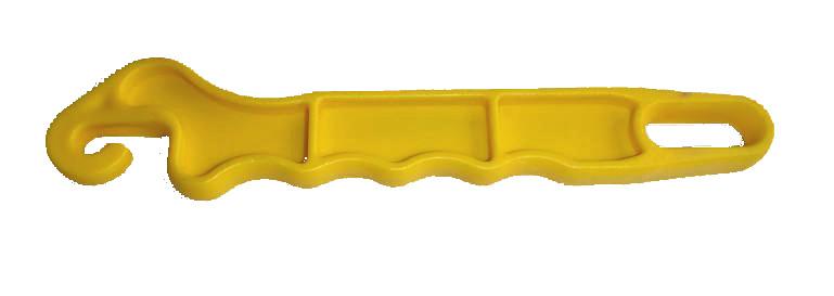 Thunderbird Gate Handle Yellow Hook EF32A