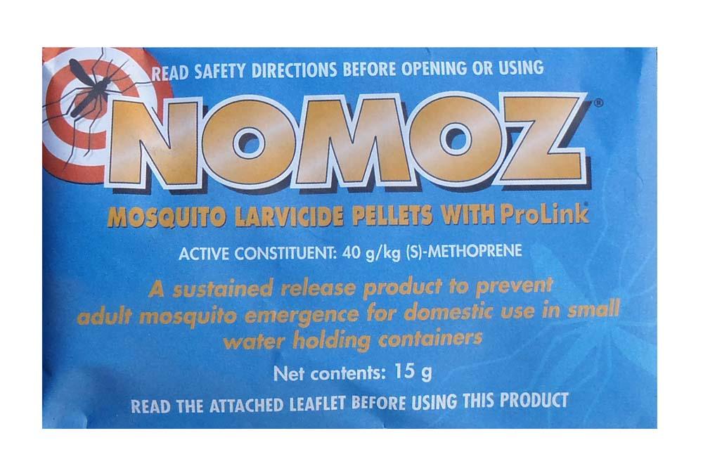 NoMoz Mosquito Larvicide Pellets 15g