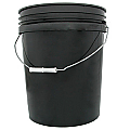 Reusable Plastic Bucket with 150 Wood Post Insulators