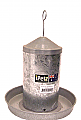 Ipetz Hanging Waterer Galvanised 1 Litre