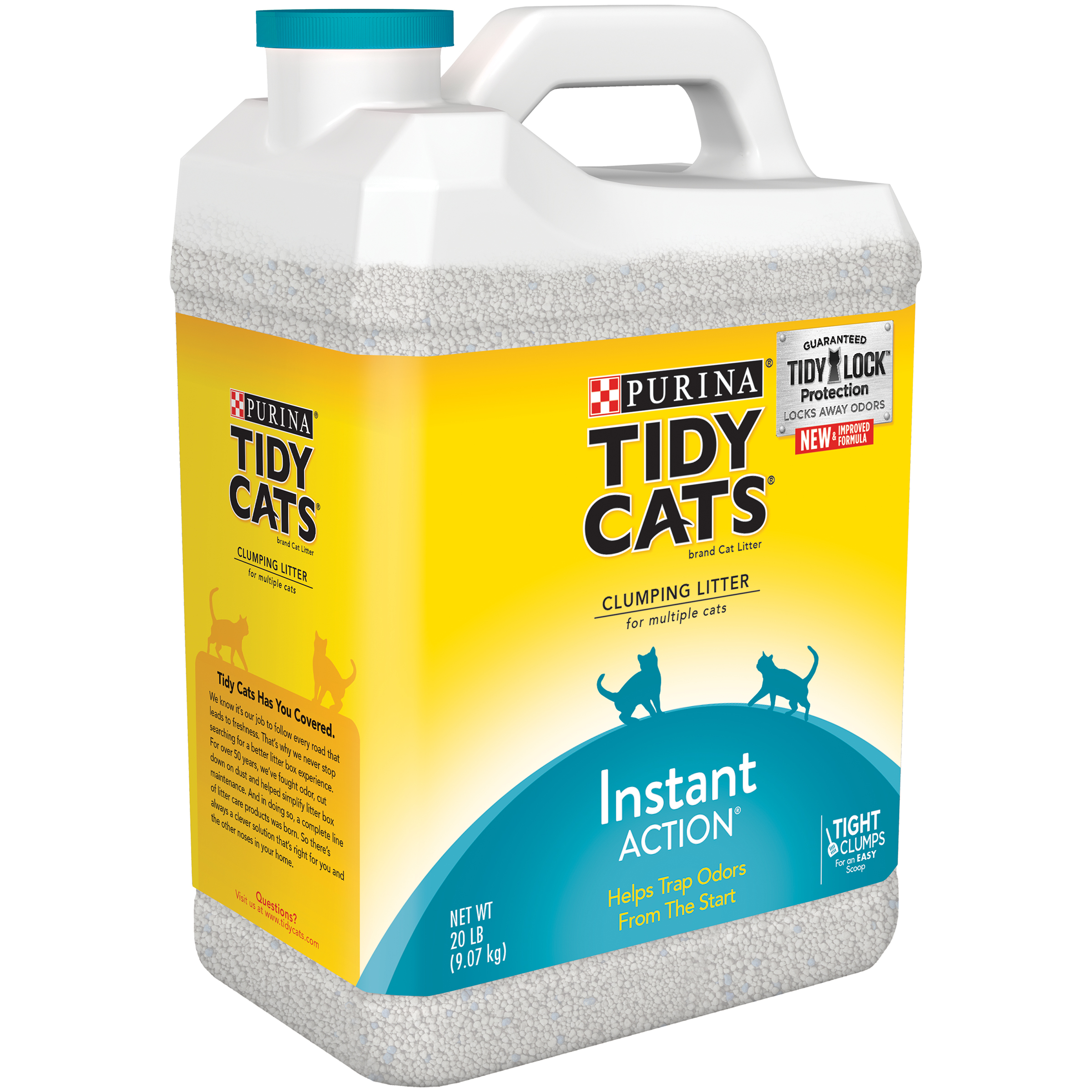 Change the way you think about cleaning your cat's litter box with the Purina Tidy Cats BREEZE Litter System starter kit. With a pass-through system, the pellets capture solid waste on top, letting urine pass through to the absorbent litter pads below.