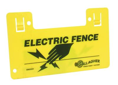 Gallagher Electric Fence Sign Double Sided G602006