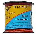 Thunderbird Poly Wire Orange 200m EF40EO