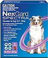 NexGard Spectra Chewable Dogs for Large 15.1-30kg 6 Pack