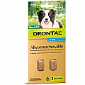 Drontal Allwormer Dogs 10kg x 2 Chews