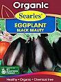 Searles Organic Eggplant Black Beauty Seeds