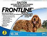 Frontline Plus Dogs 10 - 20kg 3 Pack