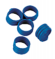Spiral Leg Bands –Blue Pack of 20