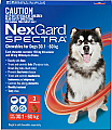 Nexgard Spectra Chewable for Dogs Extra Large 30.1 - 60kg 3 Pack
