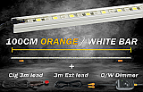 Korr Lighting 100cm LED Kit Orange / White