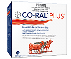 Co-Ral Plus Insecticide Cattle Ear Tags 20 Pack