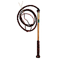 Stockmaster Redhide Yard Whip 4' x 4 Plait