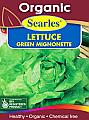 Searles Organic Lettuce Green Mignonett Seeds