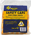 Whites Wires FinGrip System Safety Post Cap 40 Pack