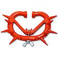 Calf Weaner - 12 Spikes - Orange