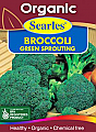 Searles Organic Broccoli Green Sprout Seeds