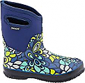 Bogs Womens Classic Mid Vintage Navy Size 9 (US)