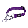 Rogz Obedience Half-Check Collar 'Fanbelt/Large'