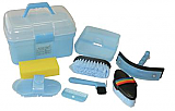 Grooming Box & Kit (8 piece) Blue