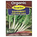 Searles Organic Silverbeet Fordhook Giant Seeds