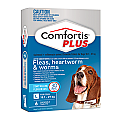 Comfortis PLUS (Panoramis) Chewable Tablets for Large Dogs 18.1-27kg (blue) 6 Pack