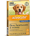 Advocate Dogs Extra Large Over 25kg 3 Pack
