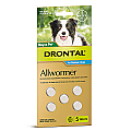 Drontal Allwormer Dogs 10kg x 5 Tablets