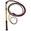 Redhide Stockwhip 6'x 6 Plait