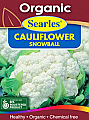 Searles Organic Cauliflower Snowball Seeds