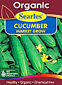 Searles Organic Cucumber Market Grow Seeds