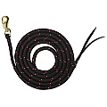 Bambino Training Lead Rope 16mm x 7' Black/Pink