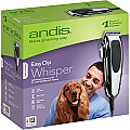 Andis EasyClip Whisper 12-Piece Adjustable Blade Clipper Kit