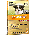 Advocate Dogs Large 10-25kg 6 Pack