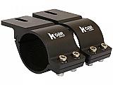 Korr Lighting Bull Bar Brackets 49-54mm Black