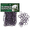 Mane Braid Rubber Bands Black