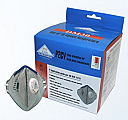 YHS P2CV Valved Respirators DM30 Vertical Fold 10 Pack