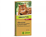 Drontal Allwormer Cats 6kg x 2 Tablets