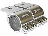 Korr Lighting Bull Bar Brackets 66-71mm Chrome