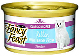 Fancy Feast Kitten Whitefish Feast 24 x 85g