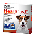 Heartgard 30 Plus Dogs up to 11kg 6 Pack