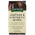 Leather & Synthetic Wipes 20pk Oakwood