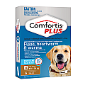Comfortis PLUS (Panoramis) Chewable Tablets for Very Large Dogs 27.1-54kg (brown) 6 Pack